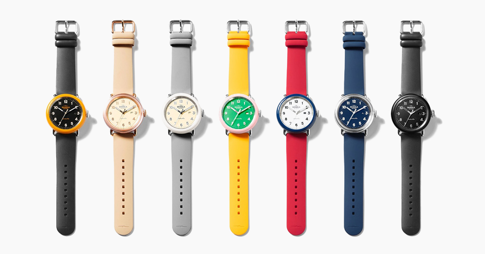 Shinola Releases A Vibrant Limited Edition Watch Collection