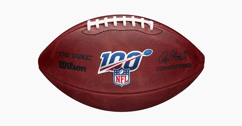 Wilson Celebrates The NFL's 100th Season With 'The Duke' Football