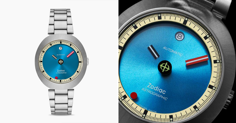 Zodiac's Limited Space-Inspired Retro Watch Has 'Floating' Hands