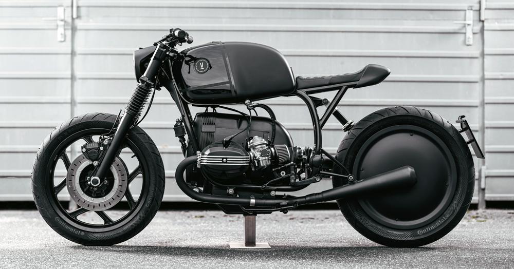 Vagabund Moto's BMW R100RT V12 Is The Definition Of 'Black Beauty'