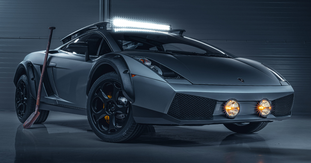 This 500HP Lamborghini Gallardo Supercar Is Ready To Off-Road