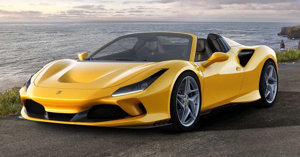 Ferrari Turns Their 710HP F8 Into A 211MPH Convertible Supercar