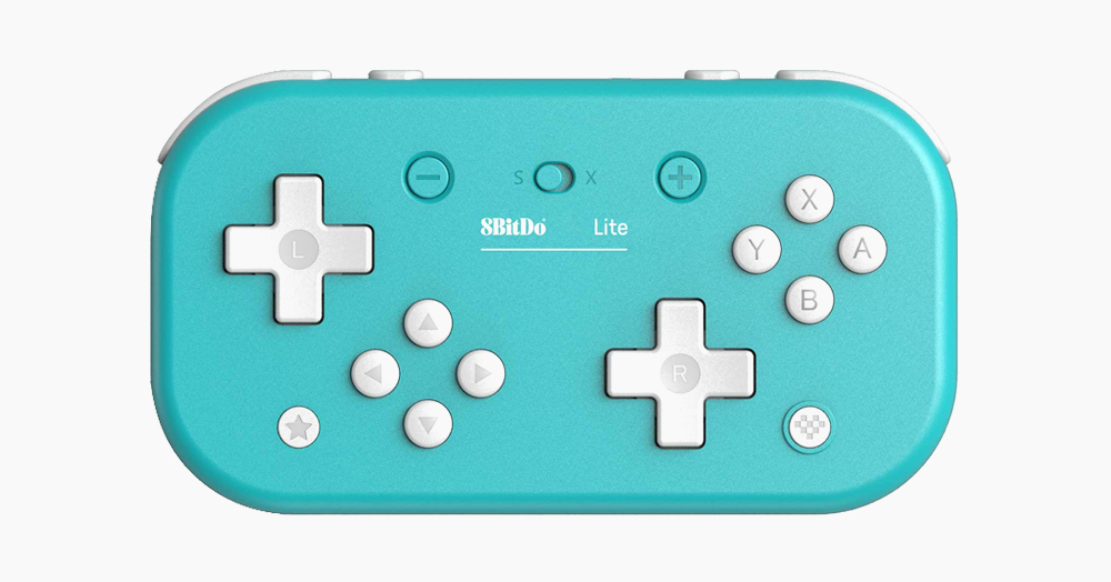8BitDo's Lite Bluetooth Controller Features Dual D-Pads For Retro Gaming