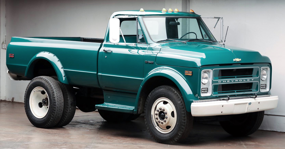 Auction Block: 1972 Chevrolet C50 Dually Truck