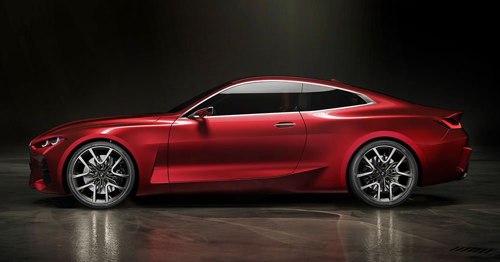 BMW's Concept 4 Is A Sleek Turbocharged Sport Coupe