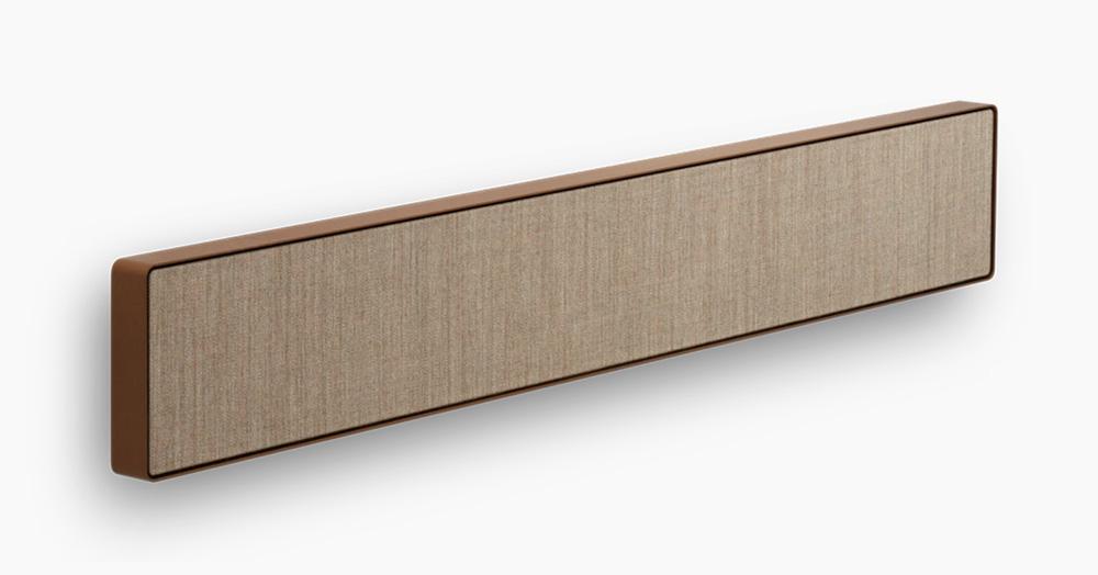 bang olufsen beosound stage soundbar hiconsumption. Black Bedroom Furniture Sets. Home Design Ideas