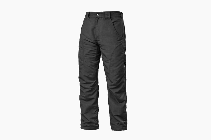MUST WAY Mens Cotton Cargo Tactical Pants Regular Fit Casual Trousers
