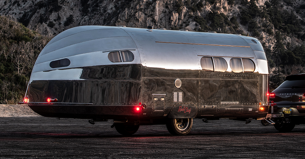 This Aluminum Yacht-Inspired Camper Trailer Is Completely Bespoke