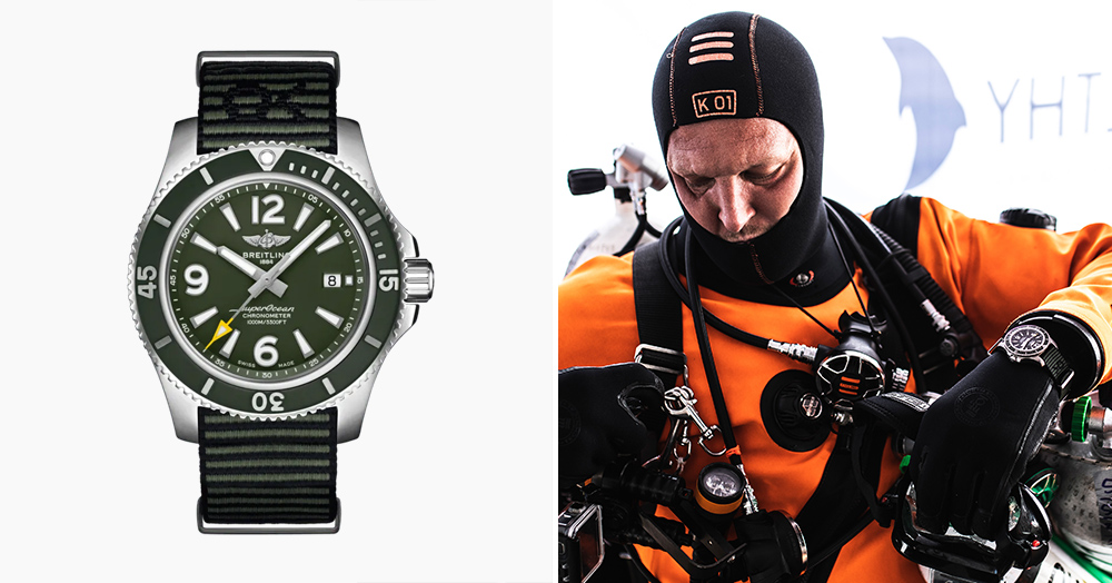 Breitling & Kelly Slater Teamed Up On A Surf-Inspired Dive Watch