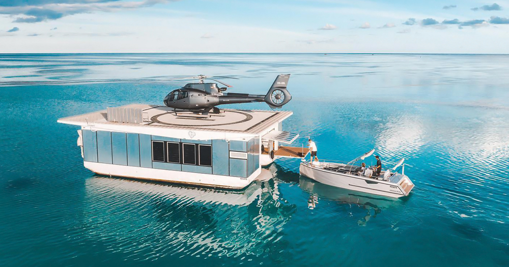 This Ultra-Elite Reef Experience Is Only Accessible Via Helicopter