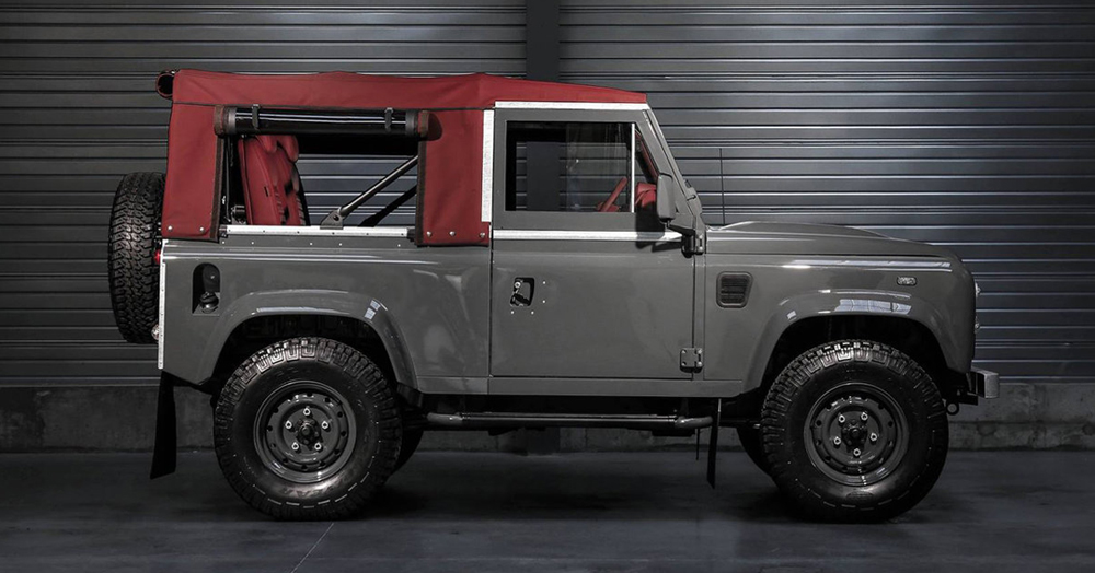 This Company Will Build The Heritage Land Rover 4×4 Of Your Dreams