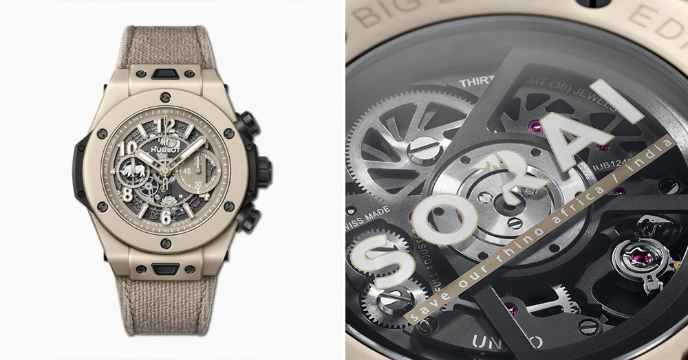 Hublot's Ultra-Limited Chronograph Watch Benefits Wildlife Conservation