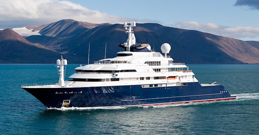 Paul Allen's 414′ $325M Superyacht Has It's Own Submarine & Cinema