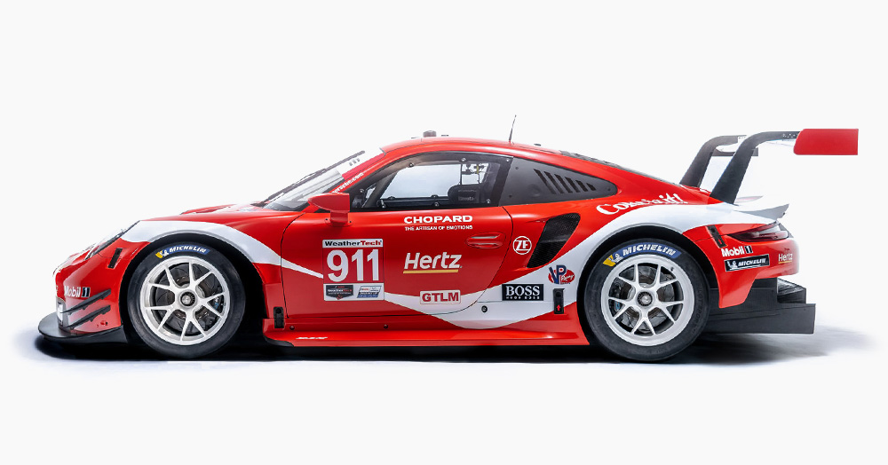 Porsche Refreshes Its 515HP 911 RSR Race Car With A Coca-Cola Livery