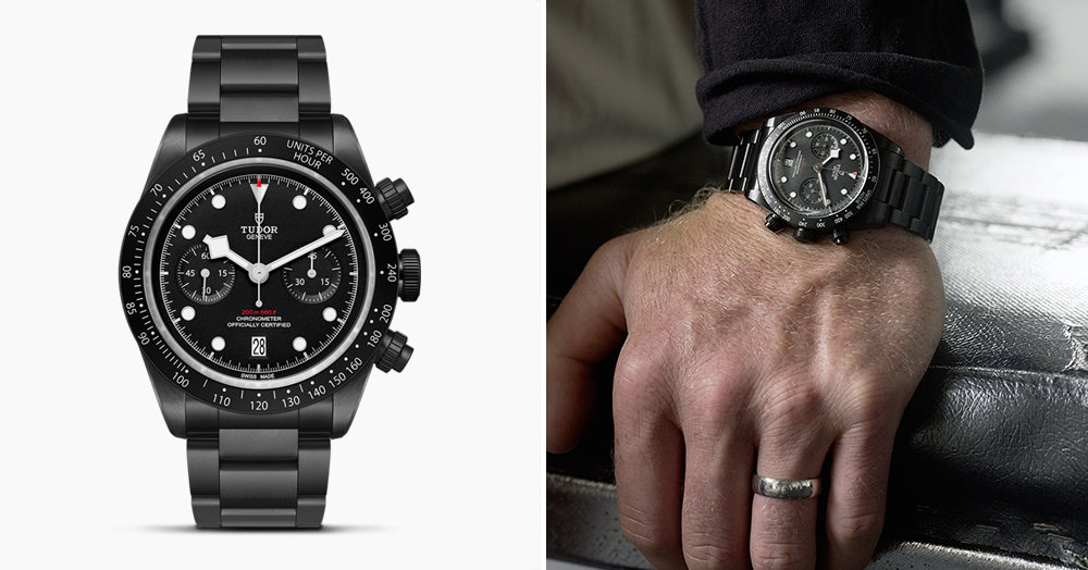 Tudor's Rare 'All Blacks' Watch Honors New Zealand's Famed Rugby Team