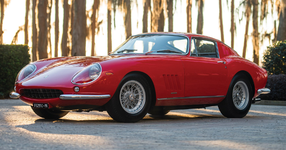 This Immaculate 1966 Ferrari 275 GTB/C Is One Of 12 Ultra-Rare Models