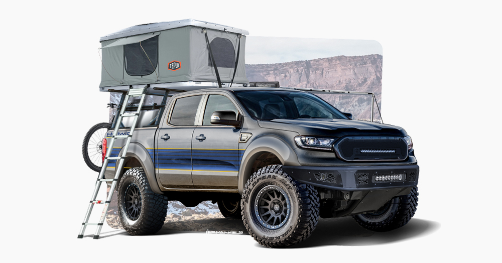 Ford Is Bringing A Series Of Trail-Ready Off-Road Ranger Pickups To SEMA