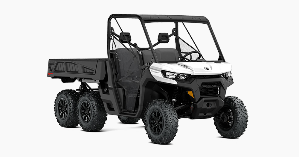 Can-Am Unleashes A 6×6 UTV For All Your Backcountry Hauling Needs