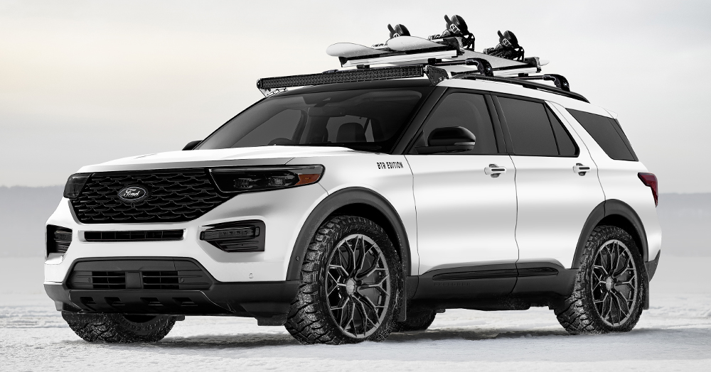 These Custom SEMA Ford SUVs Are Ready To Take On The Great Outdoors