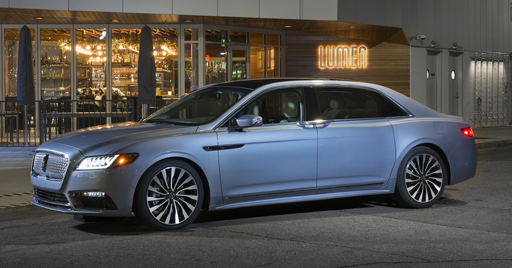 Lincoln Brings Back Its Luxurious Suicide Door Continental For 2020