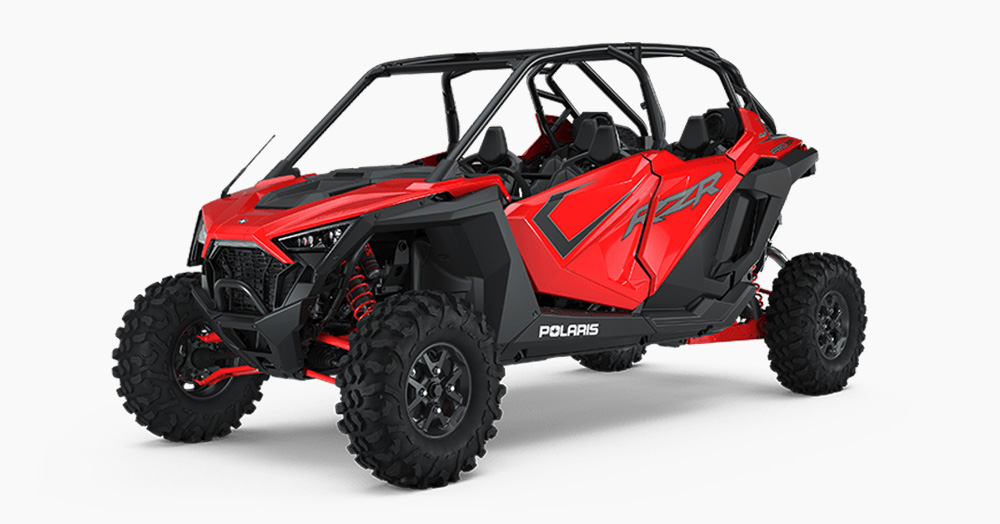 The 181HP Polaris RZR Pro XP 4 Is Ready To Tear Up The Trail