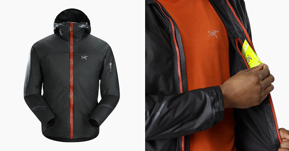 This Is The Lightest Waterproof Insulated Arc'teryx Packable Jacket Ever