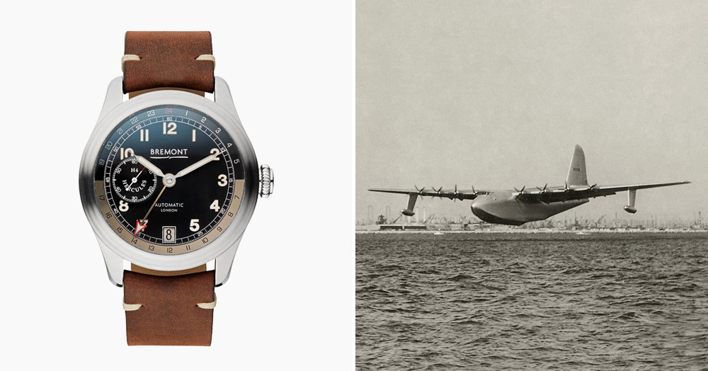 This Watch Is Made With Wood From Howard Hughes' 'Spruce Goose'
