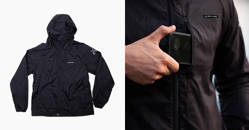 This Weatherproof Packable Minimalist Ultralight Jacket Can Heal Itself