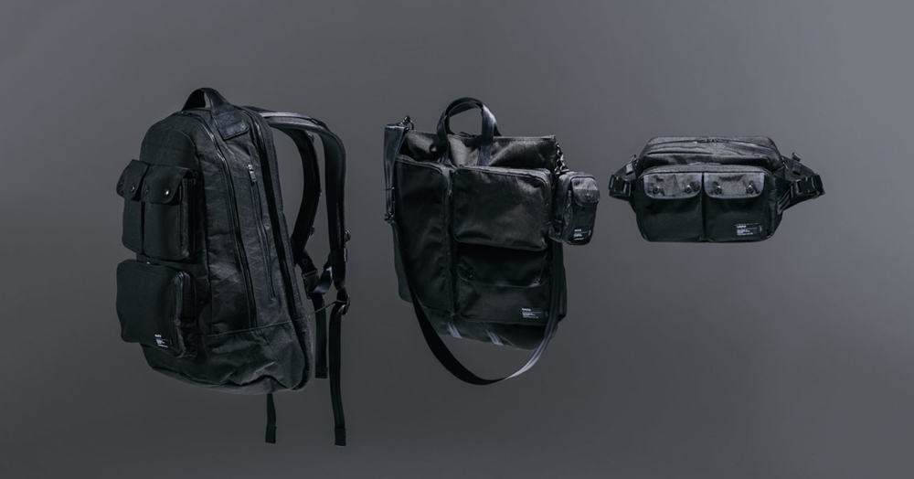 HAVEN & PORTER Join Forces On A Futuristic Cordura X-PAC Bag Collection
