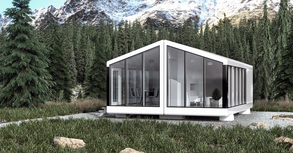 These 3D-Printed Solar-Powered Modular Homes Are Earthquake-Proof