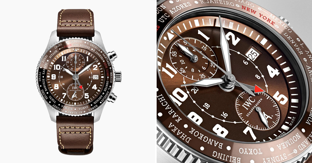 IWC Honors A Legendary Flight With This Handsome Chronograph Watch