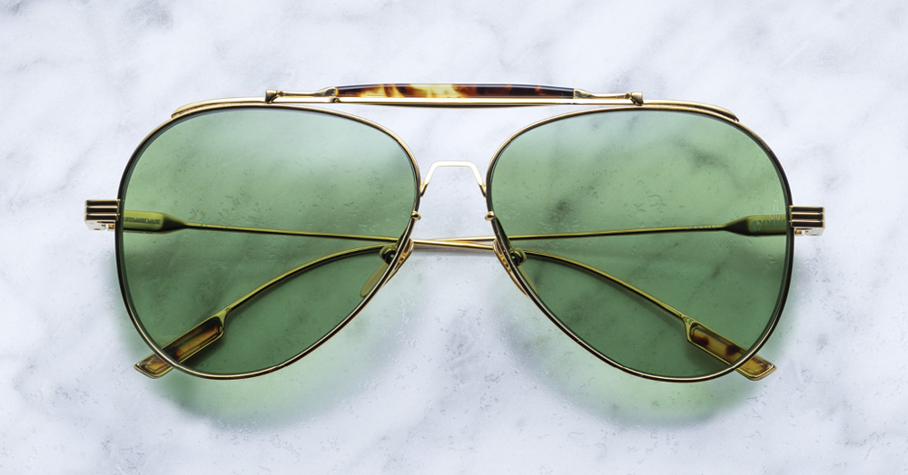 These Rare Aviator Sunglasses Were Inspired By Hunter S. Thompson