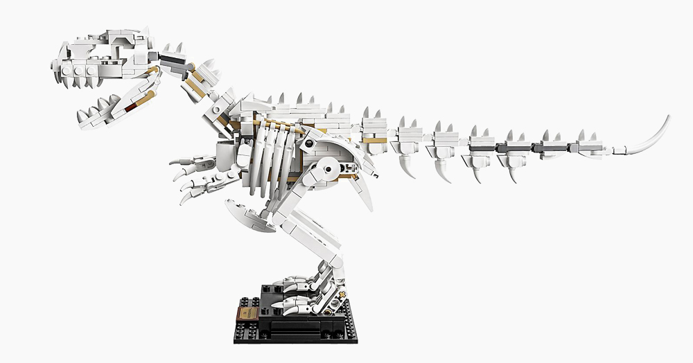 Build Your Own T-Rex Skeleton With The LEGO Dinosaur Fossils Kit