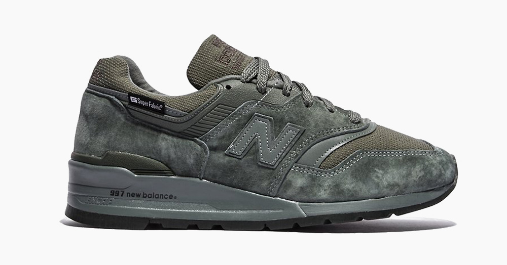 These USA-Made New Balance Sneakers Have SuperFabric Armor Plating