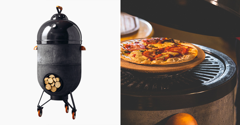 This Modular Grill Packs 4 Traditional Cooking Styles Into 1 Adaptable Setup