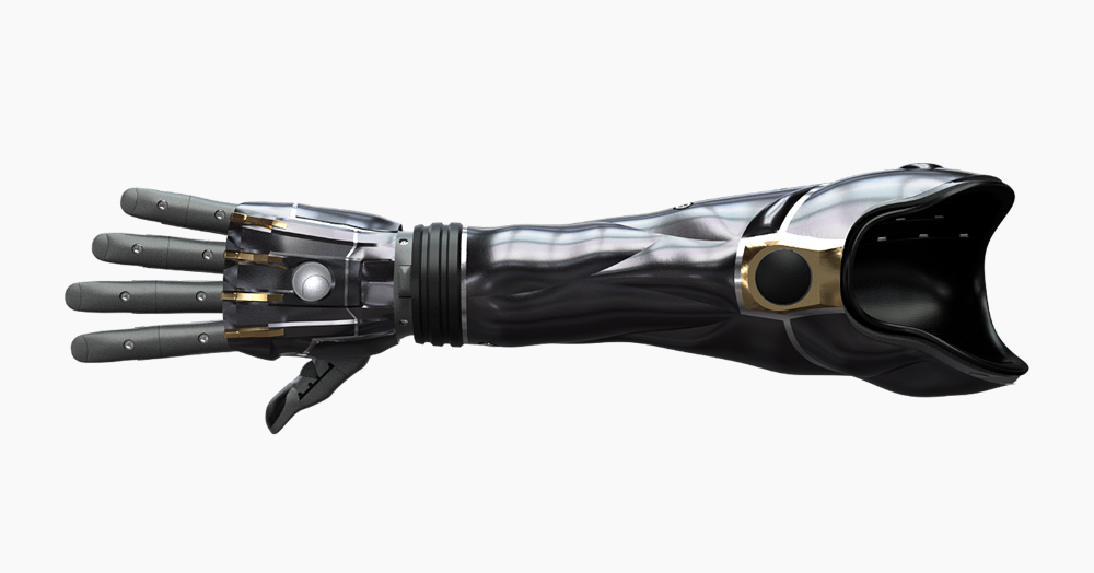 This High-Tech Haptic 3D-Printed Bionic Arm Is Fully Customizable