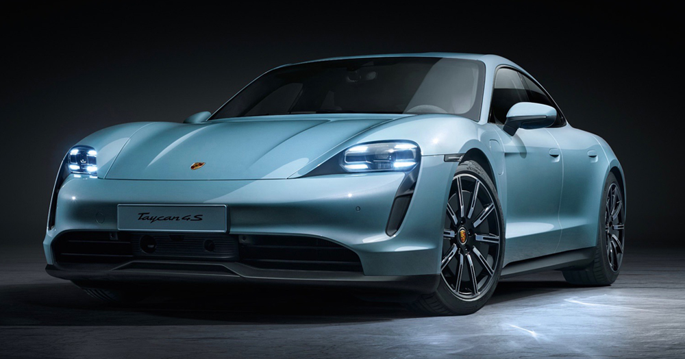 Porsche's 522HP Taycan 4S Is A Sleek, Affordable All-Electric Sports Car