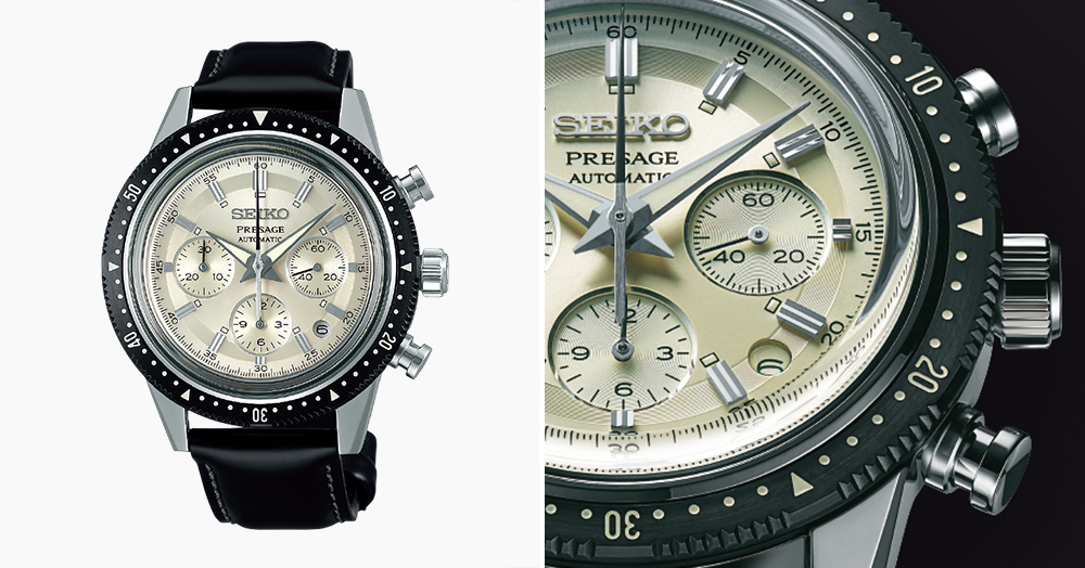 Seiko's Striking New Automatic Watch Honors Its First-Ever Chronograph