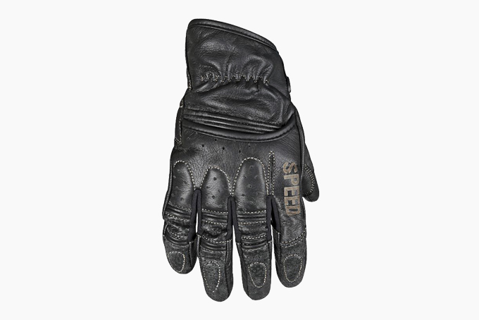 Icon Overlord Touchscreen Motorcycle Leather,Textile Gloves