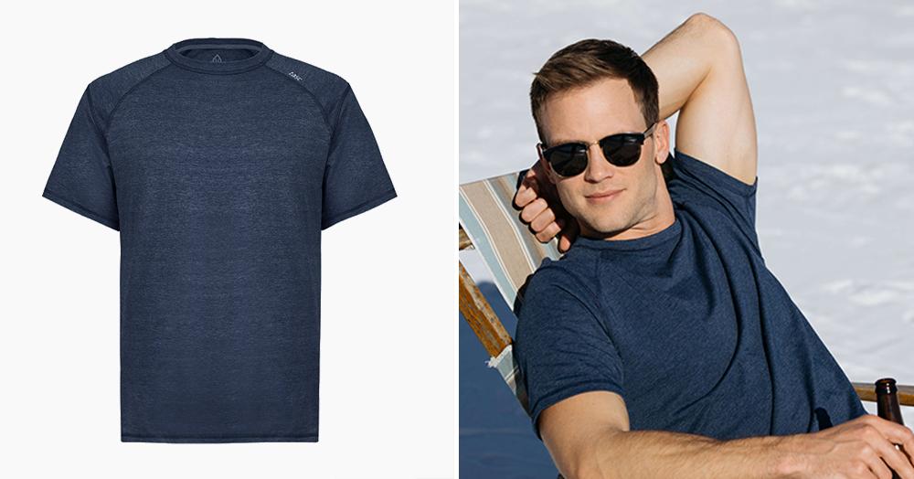 TASC Built An Ultra-Soft, Versatile, Sustainable Bamboo Performance T-Shirt
