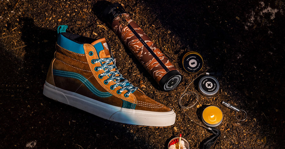 Vans Taps VSSL's Outdoor Expertise For A Survivalist Adventure Collection
