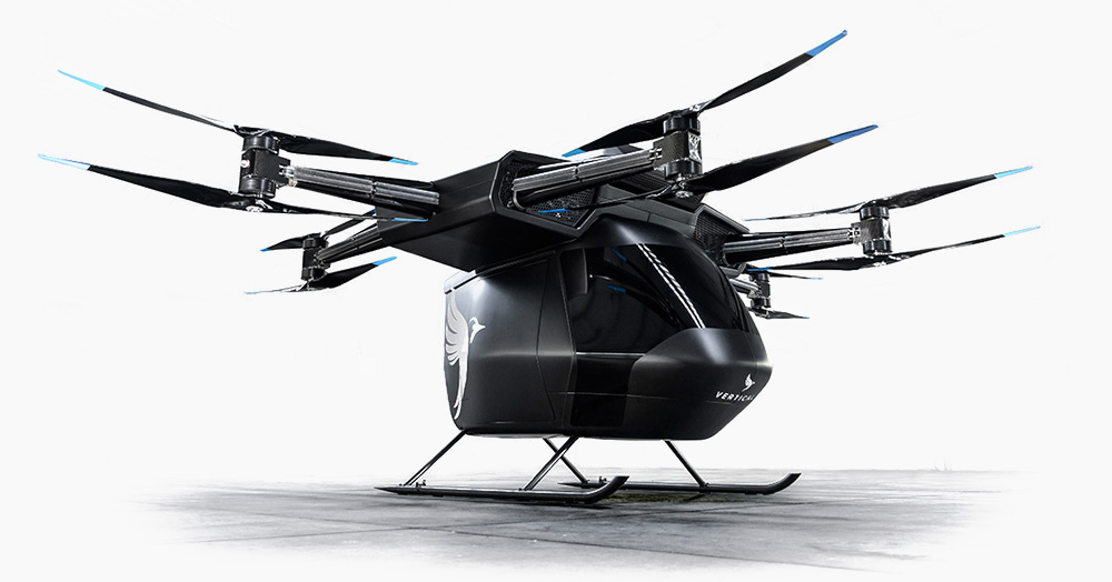 The Seraph eVTOL Air Taxi Can Haul 3 Passengers At Up To 50MPH