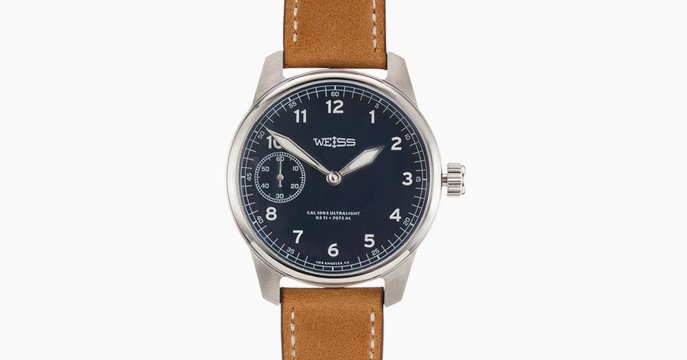 Weiss Made A Limited-Edition Titanium USA-Made Ultralight Field Watch