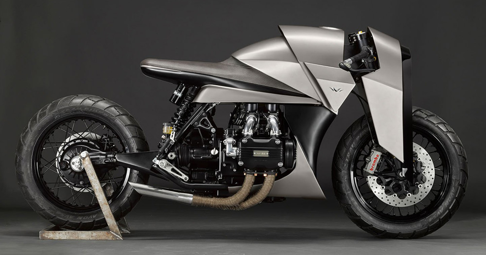 DMOL's 'Kenzo' Honda Gold Wing Moto Is A Samurai-Inspired Masterpiece