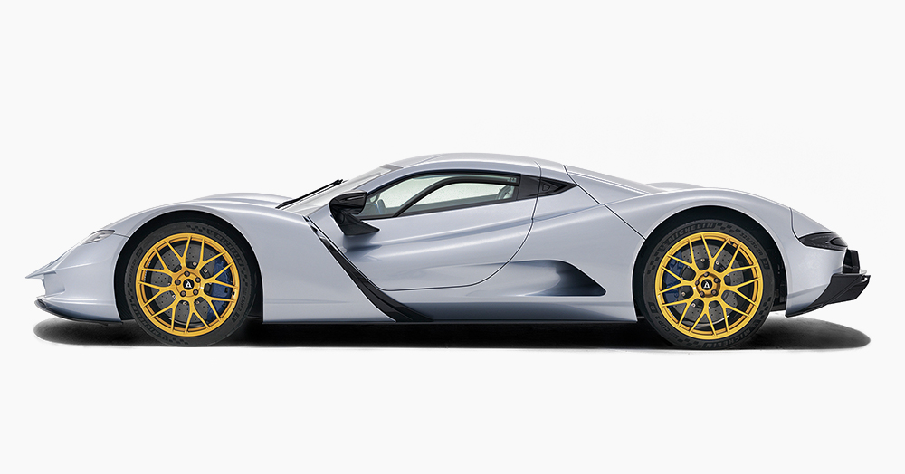 Japan's 2,012HP Electric Hypercar Clocks A 1.69-Second 0-60 Time