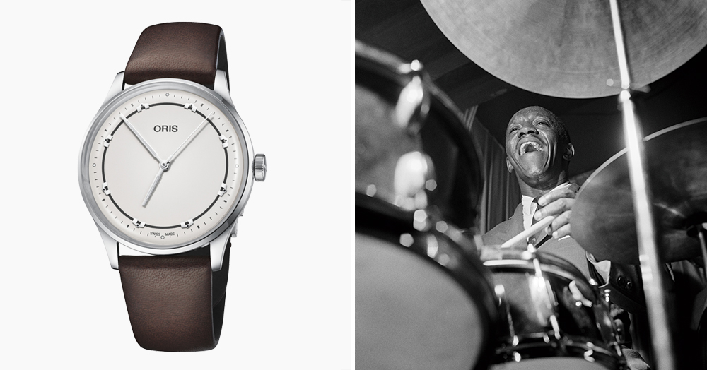 This Unique Oris Watch Was Inspired By A Legendary American Jazz Drummer
