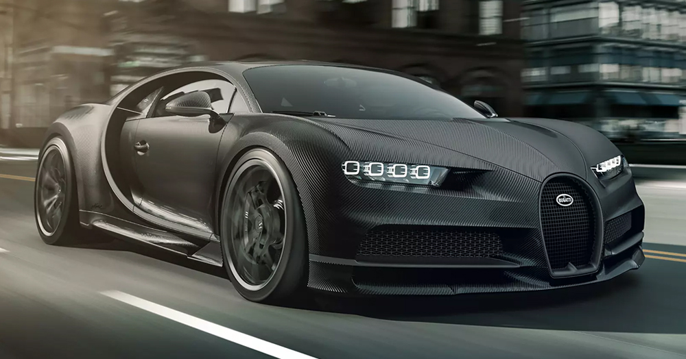 Bugatti's Carbon Fiber 'Chiron Noire' Is A 1,500HP Hypercar Inspired By The Past