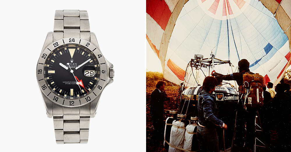 This Rolex From A Record-Setting Hot Air Balloon Flight Is Headed To Auction