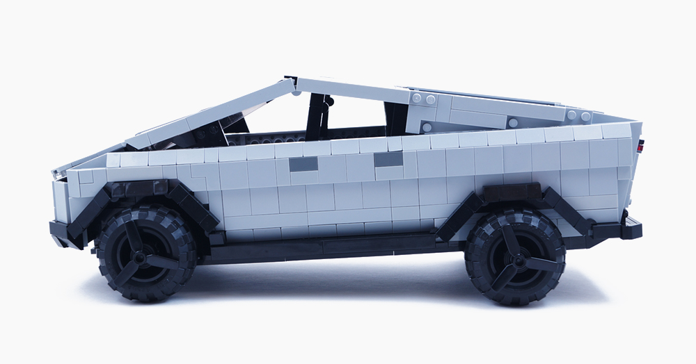 This Little LEGO Concept Wonderfully Replicates The Tesla Cybertruck