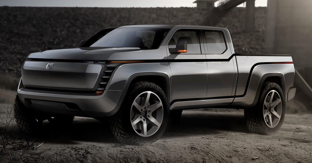 Lordstown Motors Takes Aim At Tesla's Cybertruck With An Electric Pickup